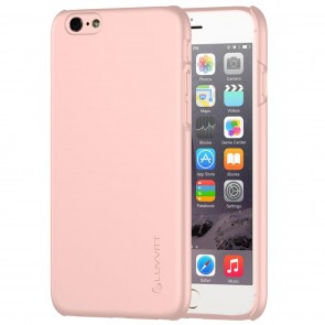 LUVVITT SVELTE Hard Slim Fit Premium Matte Case for iPhone 6/6s - Rose Gold