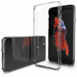 LUVVITT CLEARVIEW Case for iPhone 7 | Hybrid Back Cover - Crystal Clear