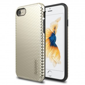 LUVVITT BRILLIANT ARMOR Case for iPhone 7 | Dual Layer Back Cover - Gold