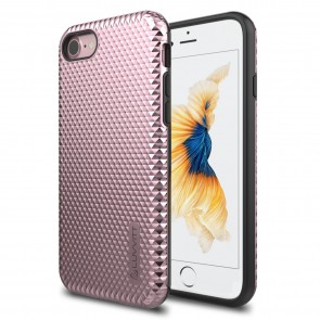LUVVITT BRILLIANT ARMOR Case for iPhone 7 | Dual Layer Back Cover - Rose Gold
