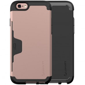 LUVVITT ULTRA ARMOR WALLET Case for iPhone 6s | Dual Layer Back Cover
