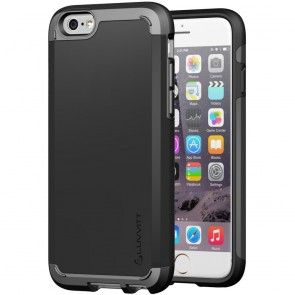 LUVVITT ULTRA ARMOR NL iPhone 6s Case | Dual Layer Back Cover - Black