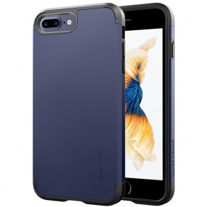 LUVVITT ULTRA ARMOR Case for iPhone 7 PLUS | Dual Layer Back Cover - Space Blue
