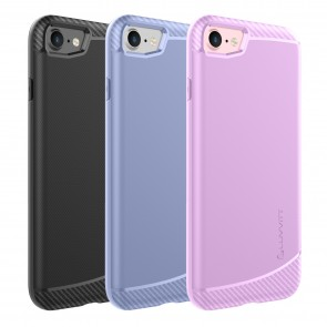 LUVVITT SLEEK ARMOR Case Shock Absorbing Flexible TPU Rubber Cover for iPhone 7