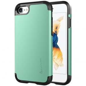 LUVVITT ULTRA ARMOR Case for iPhone 7 | Dual Layer Back Cover - Mint Green