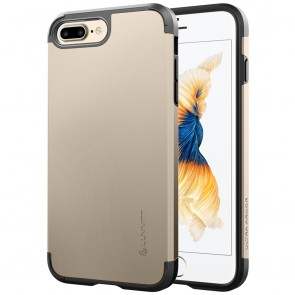 LUVVITT ULTRA ARMOR Case for iPhone 7 PLUS | Dual Layer Back Cover - Gold