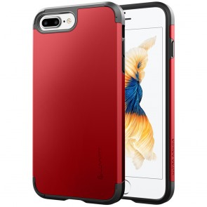 LUVVITT ULTRA ARMOR Case for iPhone 7 PLUS | Dual Layer Back Cover - Red