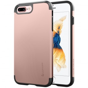 LUVVITT ULTRA ARMOR Case for iPhone 7 PLUS | Dual Layer Back Cover - Rose Gold