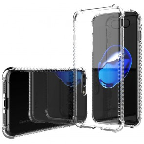 LUVVITT CLEAR GRIP Case for iPhone 7 PLUS | Soft TPU Rubber Back Cover - Clear
