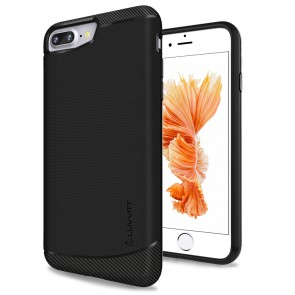 LUVVITT SLEEK ARMOR Case Shock Absorbing Flexible TPU Cover for iPhone 7 PLUS
