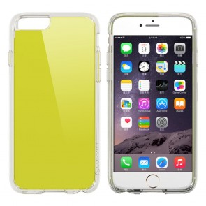LUVVITT CLEARVIEW Case for iPhone 6S / 6 | Hybrid Back Cover - Neon Lime