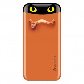 LUVVITT EMOJI Power Bank 6000 mAh Ultra Slim Portable Charger - Emoji Orange