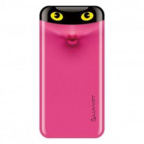 LUVVITT EMOJI Power Bank 6000 mAh Ultra Slim Portable Charger - Emoji Pink