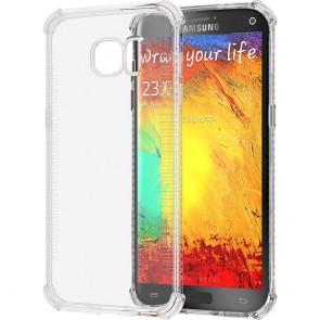 LUVVITT CLEAR GRIP Galaxy S7 Case   Slim Transparent TPU Rubber Case - Clear