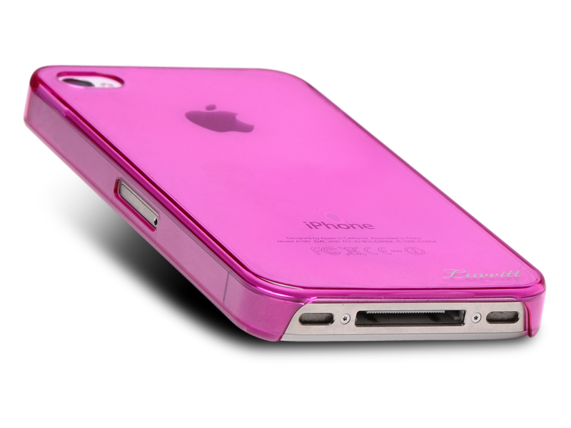 LUVVITT CRYSTAL VIEW UltraSlim Crystal Case for iPhone 4 & 4S - Pink