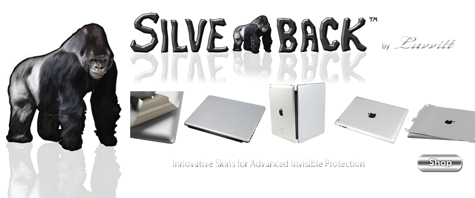 silverback skins for iPad and accessories