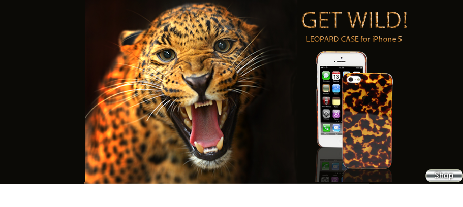LUVVITT® LEOPARD iPhone 5 Case