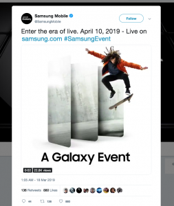 Samsung Galaxy Fans Save The Date: April 10