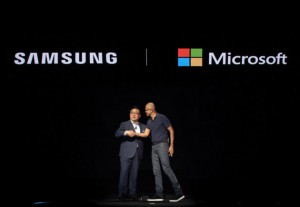Microsoft and Samsung Galaxy Partner-Up
