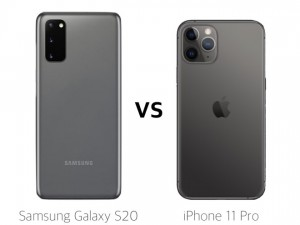 Head-To-Head Challenge: iPhone 11 vs Galaxy S20