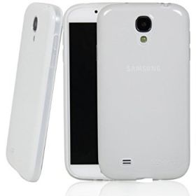 LUVVITT FROST Soft Slim Clear TPU Case / Back Cover for Galaxy S4 - Frosted