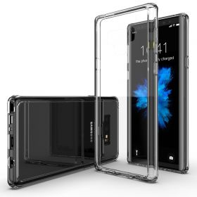 Luvvitt Clear View GLASS Back Case for Galaxy Note 9 - Crystal Clear