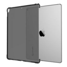 LUVVITT CLEAR GRIP Smart Cover Compatible Case for Apple iPad Pro 10.5 in 2017 and iPad Air 3 2019 - Black