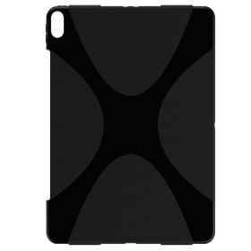 Luvvitt iPad Pro 12.9 Case X Design Wireless Compatible Flexible TPU Cover Black