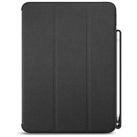LUVVITT iPad Pro 11 Case Front and Back Cover with Pencil Holder 2018
