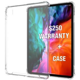 Luvvitt iPad Pro 12.9 Case 2020 Clear View with $250 Screen Replacement Warranty