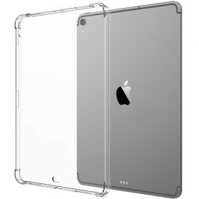 Luvvitt iPad Pro 11 Case CRYSTAL VIEW Flexible Slim TPU Back Cover 2018 - Clear