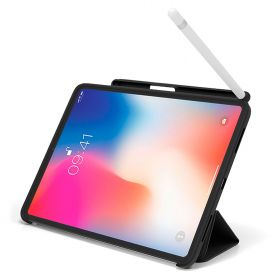 LUVVITT iPad Pro 12.9 Case Front and Back Cover with Pencil Holder 2018