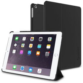 Luvvitt (R) iPad Aluminum Bluetooth Wireless Keyboard Case / Cover for the New iPad 3 - Black Keyboard
