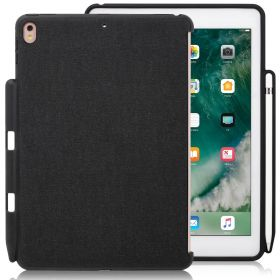 LUVVITT iPad 9.7 Case (2018) with Pencil Holder Compatible with Keyboard