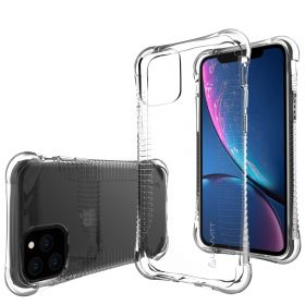 Luvvitt Clear Grip Shockproof Flexible TPU Case for Apple iPhone 11 Pro 2019 - Clear
