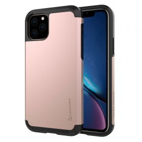Luvvitt Ultra Armor Dual Layer Heavy Duty Case for iPhone 11 Pro 2019 - Rose Gold