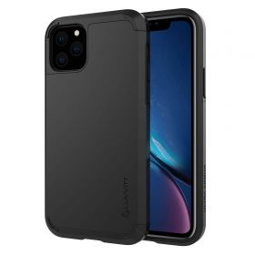 Luvvitt Ultra Armor Dual Layer Heavy Duty Case for iPhone 11 Pro Max 2019 - Black