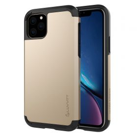 Luvvitt Ultra Armor Dual Layer Heavy Duty Case for iPhone 11 Pro Max 2019 - Gold