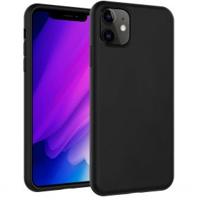 Luvvitt Liquid Silicone Case for Apple iPhone 11 2019 - Black