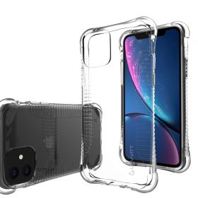 Luvvitt Clear Grip Shockproof Flexible TPU Case for Apple iPhone 11 2019 - Clear