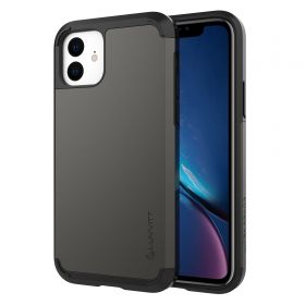 Luvvitt Ultra Armor Dual Layer Heavy Duty Case for iPhone 11 2019 - Space Gray