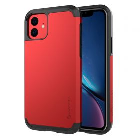 Luvvitt Ultra Armor Dual Layer Heavy Duty Case for iPhone 11 2019 - Red