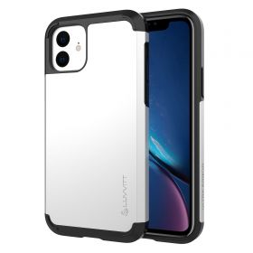 Luvvitt Ultra Armor Dual Layer Heavy Duty Case for iPhone 11 2019 - Silver