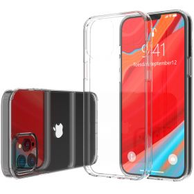 "LIQUID GLASS Clear Case for Apple iPhone 12 and iPhone 12 Pro (6.1"") 2020"