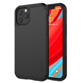 Luvvitt Ultra Armor Dual Layer Heavy Duty Case for Apple iPhone 12 Pro Max Black
