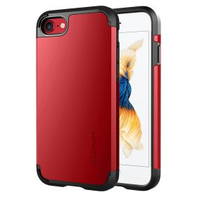 Luvvitt Ultra Armor Dual Layer Case for iPhone SE 2020/ iPhone 7 / iPhone 8 Red