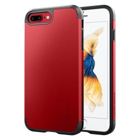 Luvvitt Ultra Armor Dual Layer Case for iPhone 8 Plus - Red