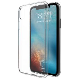 iPhone XS / X Case Luvvitt Clear View Hybrid Scratch Resistant Back Cover Clear
