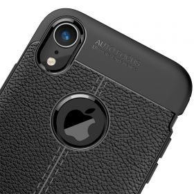 """Luvvitt Case for iPhone XR TPU Flexible Protection with 6.1"""" Screen 2018 - Black"""