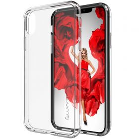 Luvvitt iPhone XR Case Clear View Hybrid Cover for iPhone XR with 6.1 inch Screen 2018